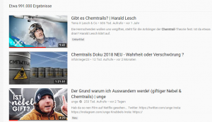 Screenshot Youtube, Simon Unge, Chemtrails