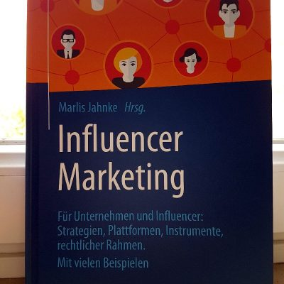 Buchcover Influencer Marketing