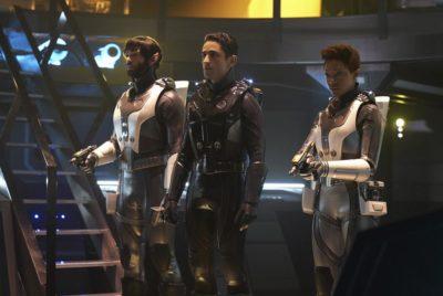 Außenmission für Spock und Burnham in Discovery S02E12. Foto: CBS